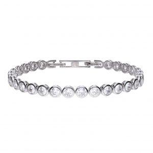Diamonfire Large CZ Tennis Bracelet